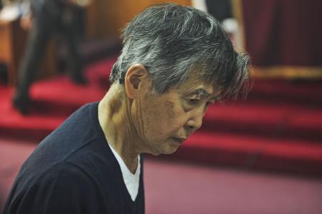 Trasladan a clínica al expresidente Fujimori por problemas respiratorios